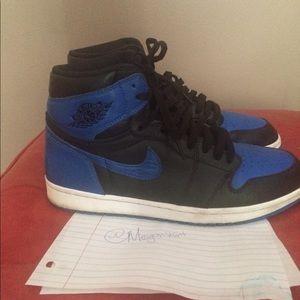 Royal Jordan 1's